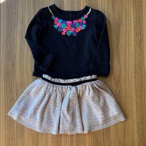 Kate Spade jewel necklace set